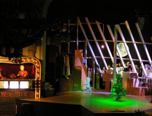 Weihnachtspause im Mondstaubtheater